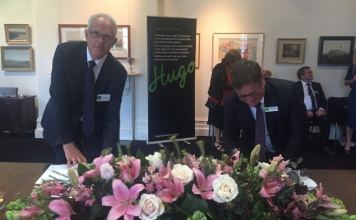 Signing of Hugo Charitable Trust $2 million gift to the Liggins Institute and the Auckland Bioengineering Institute