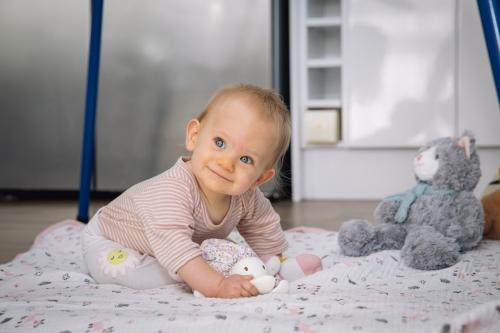 DIAMOND study participant baby Aria Markham